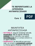 Curs 2 Concepte Referitoare La Apararea Antiinfectioasa