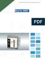 WEG Disjuntor Aberto Abw 50011456 Catalogo Portugues Br