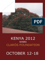 Humanitarian trip Kenya 2012