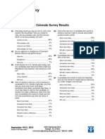 Public Policy Polling on CO SEN 9.25.14