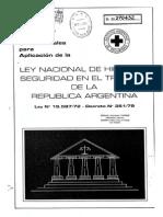 01 Ley de Higiene y Seguridad - Ley 19587-72 Decreto 351-79