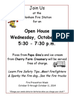 WFD Prevention Week Flyer 2014