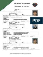 public arrest report for 26sep2014