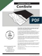 Solar Console Installation Manual