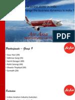 AirAsia India Economic Prospects
