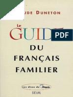 FLE.guide Du Français Famillier