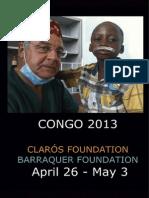 Humanitarian trip Congo 2013