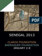 Humanitarian trip Senegal 2013