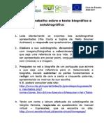 Proposta de Trabalho Sobre o Texto Biografico e Autobiografico2