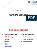 2 Unit-I Geological Agencies - Weathering