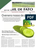 Agronegocio e Consumo de Agrotoxicos