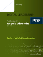 DIGITAL LEADERSHIP an Interview With Angela Ahrendts