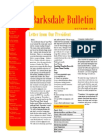 Barksdale OSC October 2014 Newsletter