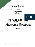 Manual de Acordes Basicos 1.4