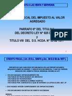 Dev Iva Credito Fiscal