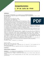 Ley Estupefacientes 17.818 - Ley Psicotrópicos 19.303
