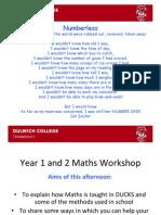 maths parent forum