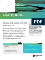 Aptimize SharePoint Website Accelerator