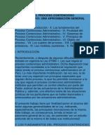 Nueva Ley Del Proceso Contencioso Administrativo