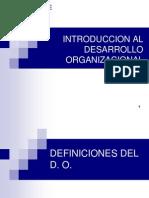 Desarrollo Organizacion de French y Bell