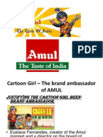 Justifying Mascot of AMUL