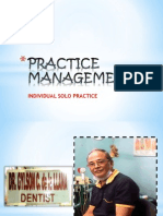 Practice Management Report
