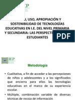 Exposicion IEP