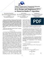 A New Approach to Design and Implement FFT IFFT Processor Based on Radix-42 Algorithm