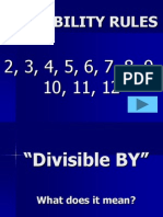 1. DivisabilityRules