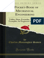 A Pocket-Book of Mechanical Engineering 1000086886