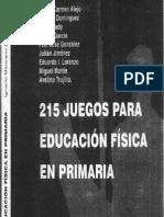 215 Juegos Para Educacion Fisica en Primaria2
