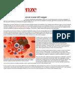 Prevedere le metastasi con un esame del sangue - Le Scienze.pdf