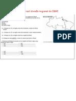 Atividades Brasil Divisão Regional Do IBGE