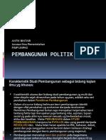 PEMBANGUNAN POLITIK 2