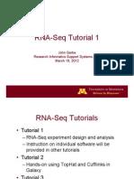 RNA-Seq Module 1