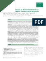 Hidroclorotiazida Versus Clortalidona Ecr