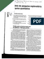 Capitulo 6 Metodo de Pesquisa Exploratoria Pesquisa Qualitativa