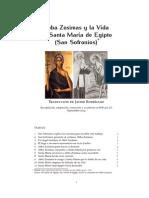 La Vida de Santa Maria de Egipto [San Sofronios]