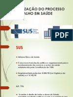 Organização Do Processo de Trabalho Em Saúde