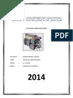 Informe El Motor de Combustion Interna