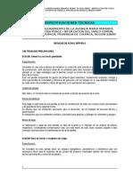 ESPECIFICACIONES TÉCNICAS - DESAGUE DE AGUAS SERVIDAS.doc