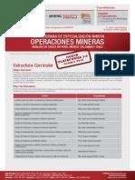 especializacion en operaciones mineras -  camara minera - curricula.pdf