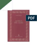 Aristóteles - Acerca Del Alma