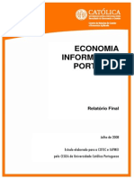Estudo Economia Informal