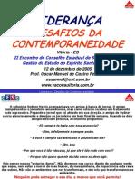 4 Lideranca e Desafios Da Contemporaneidade Oscar Manuel de Castro Ferreira