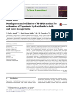 Development and validation of RP-HPLC method for tapentadol HCl bulk and tablet.pdf
