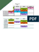 Design Jadwal Semester Kuliah