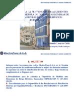 06. Gestion Para La Prevencion de Accidentes Mediante La Mejora de DMS en Redes de Distribucion Electrica - Ing. Artemio Loayza