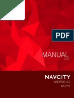 Manual Navcity Nt-1711