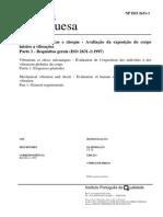 Norma Portuguesa NP ISO 2631-1